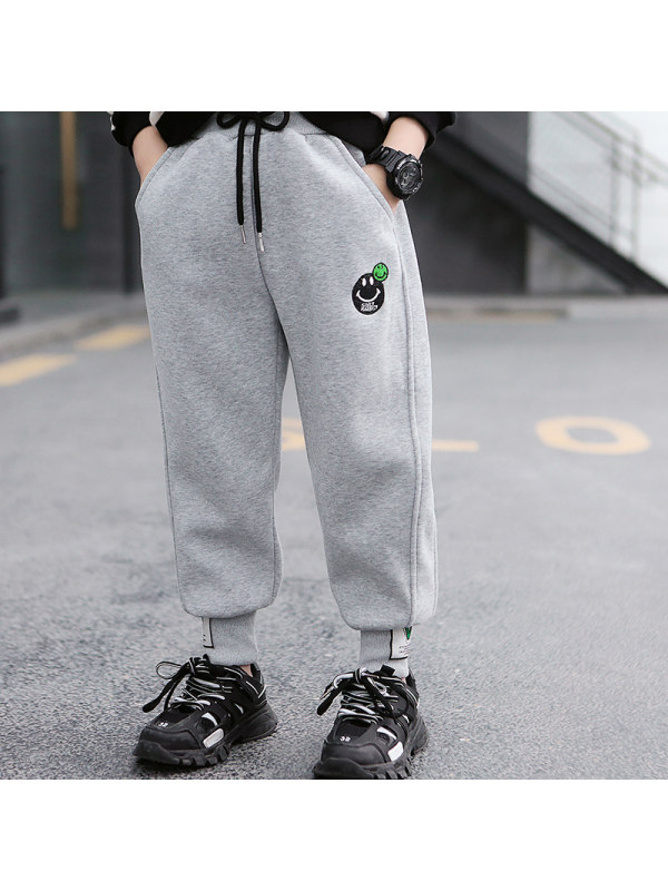 【2Y-15Y】Boys Sports Trousers Loose Casual Pants