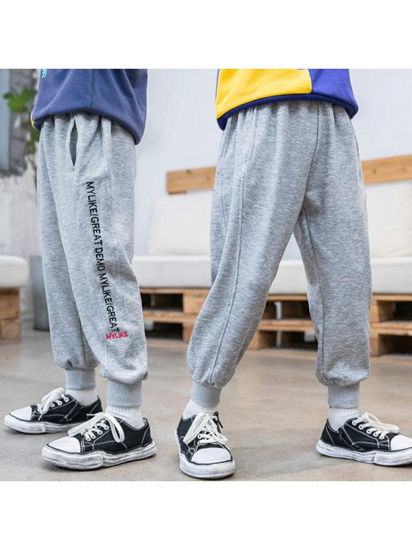 【3Y-13Y】Boys Sports Loose Casual Sweatpants