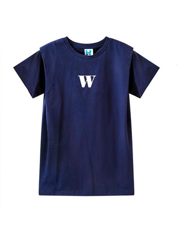 【3Y-13Y】Girls Short-sleeved T-shirt Dress