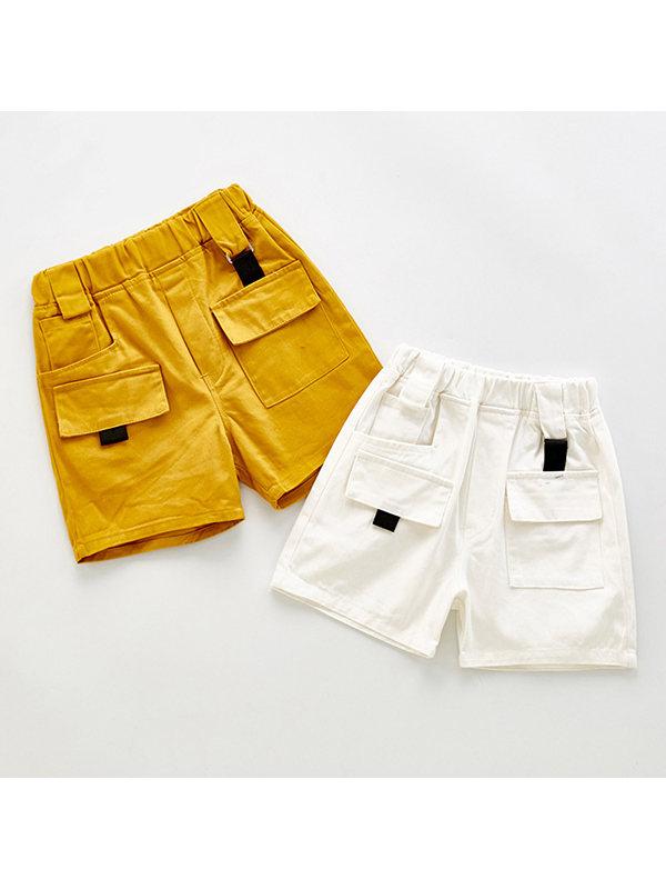 【12M-9Y】Boys Trendy Workwear Shorts