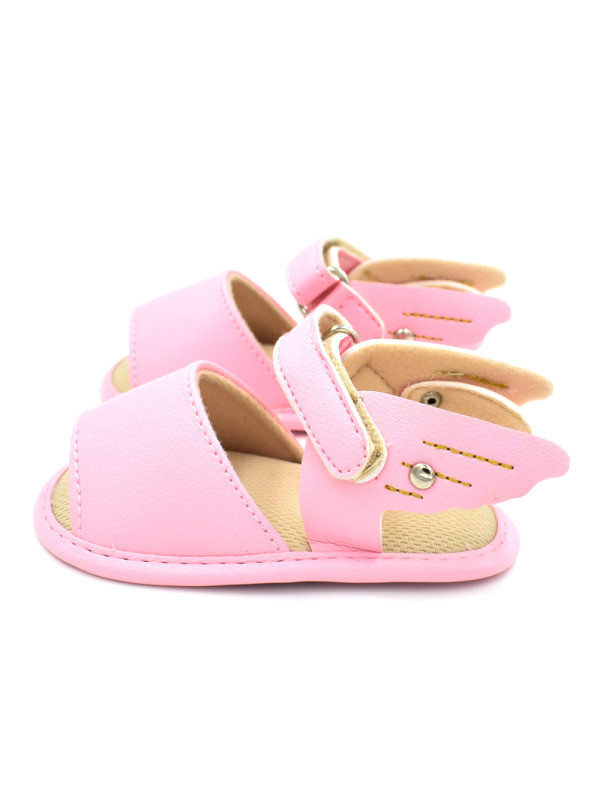 Wing-shaped Soft Rubber Sole Baby Sandals