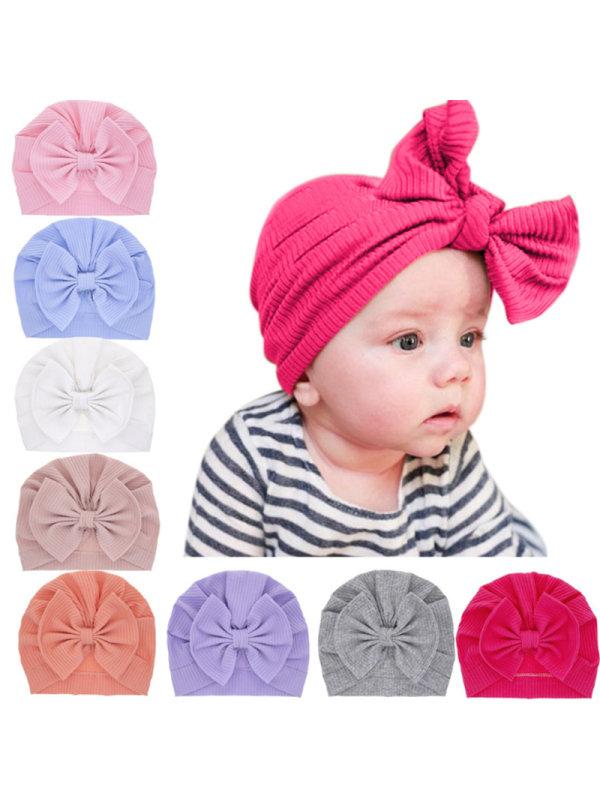 Baby Bow Head Hat