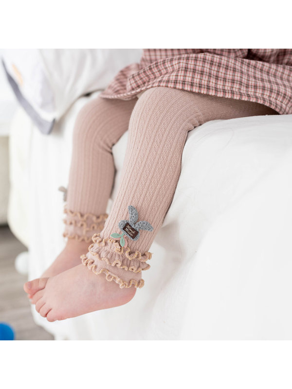 【0Y-6Y】Girls One-piece Ankle Tights