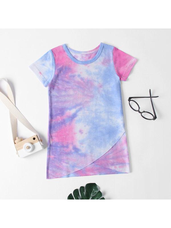 【18M-7Y】Girls' Tie-dye Dress
