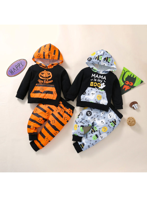 【12M-5Y】Boys Halloween Style Two-piece Suit