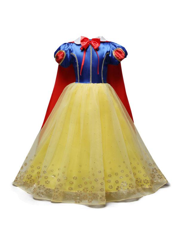 【3Y-8Y】Girls Princess Dress With Cloak