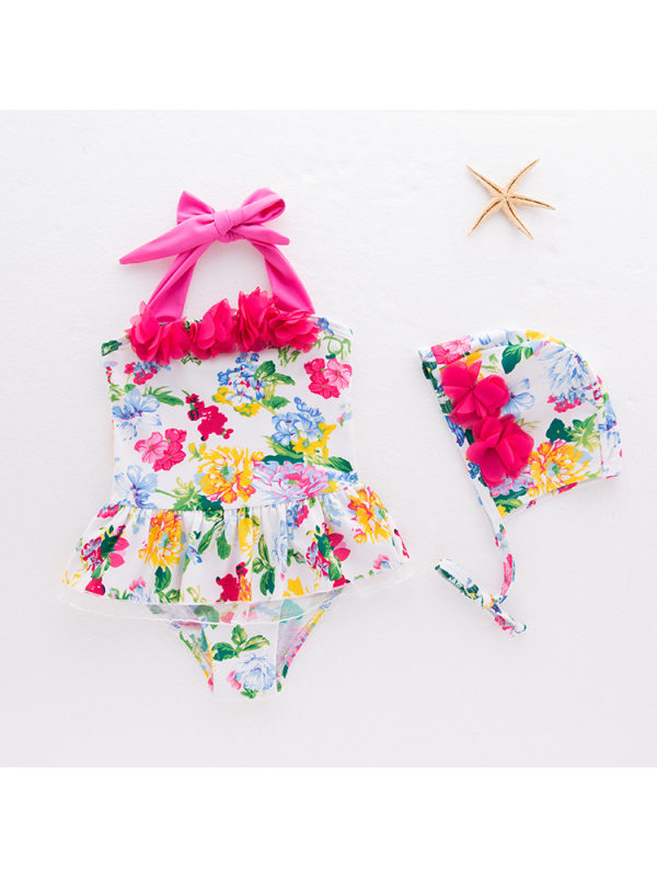 【12M-5Y】Girls One-piece Swimsuit