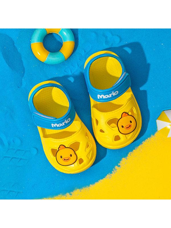 Children's Beach Shoes Baotou Hole Shoes