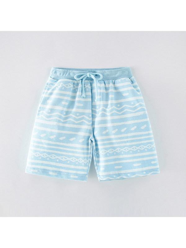 【18M-9Y】Boys' Trendy Five-point Pants