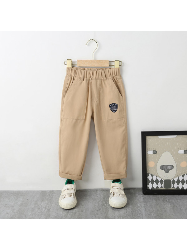 【18M-7Y】Boys' College Casual Trousers