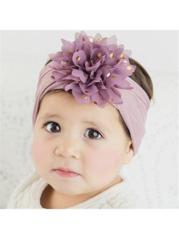 Bronzing Little Chiffon Flower Headband