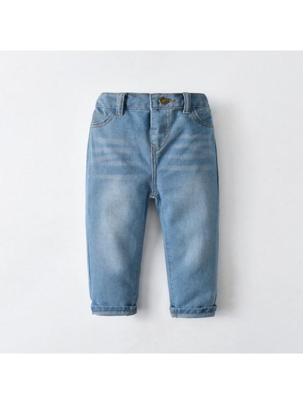 【12M-7Y】Boys Denim Trousers