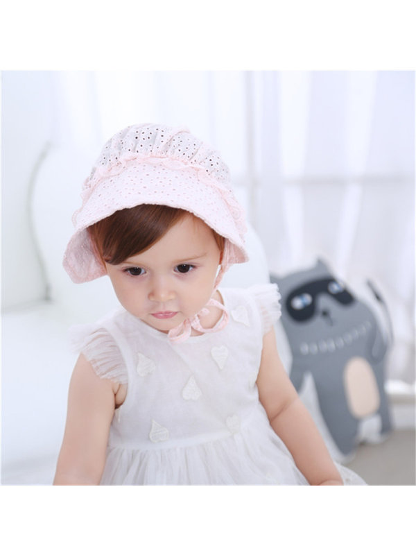 Wide Hat Breathable Baby Sun Hat