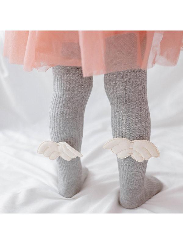 【6M-3Y】Angel Wings Baby One-piece Socks
