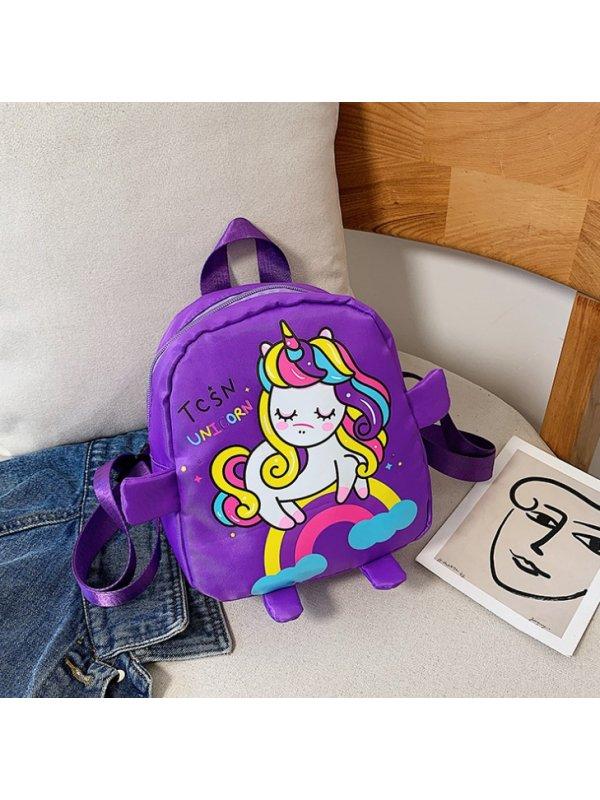 Unicorn Print Cute Backpack