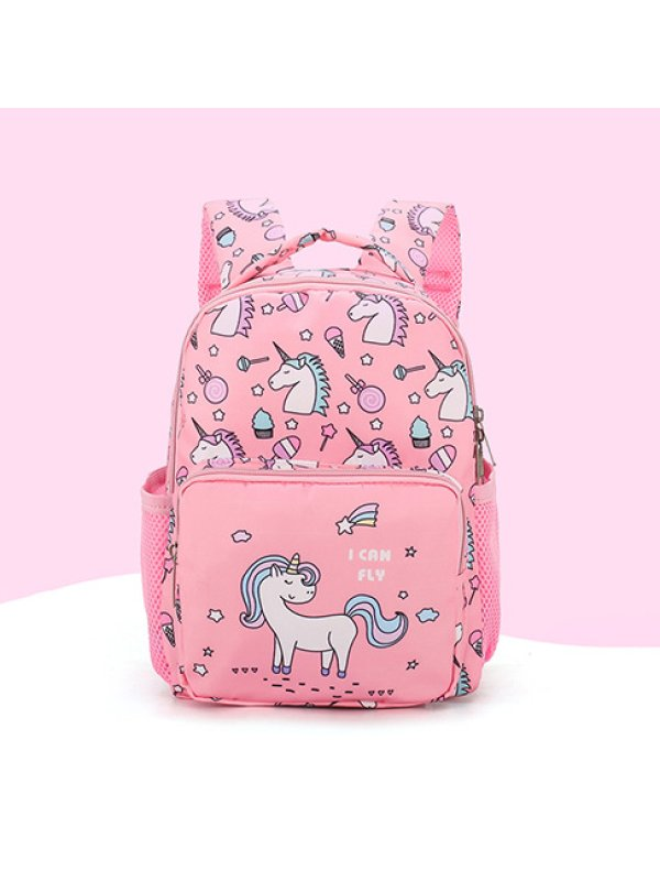 Unicorn Print Cartoon Backpack