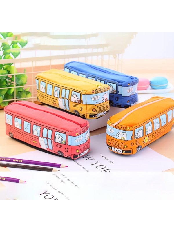 Bus Stationery Bag Pencil Case