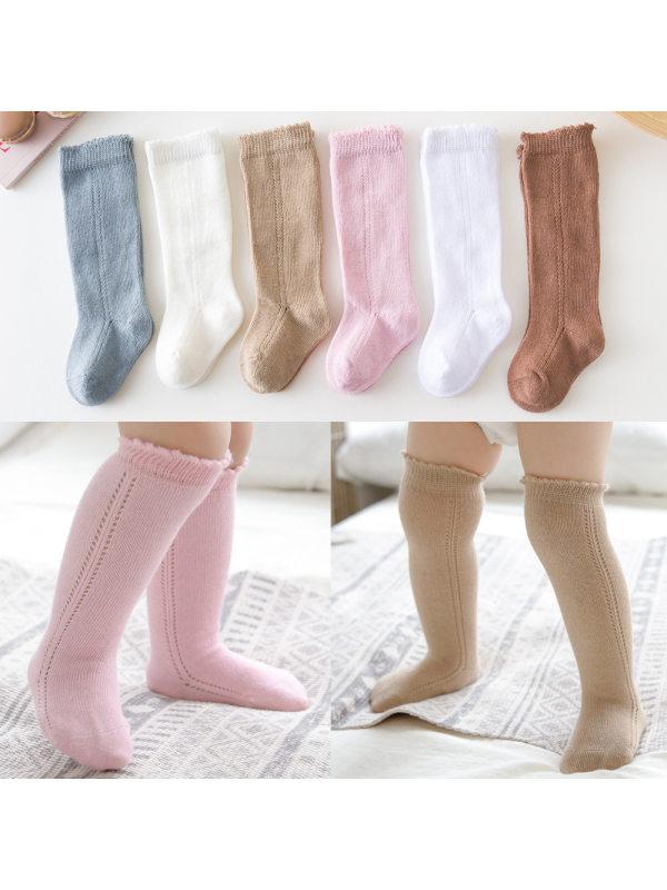 Girls Plain Loose Side Stockings