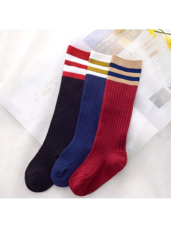 Girls Cotton Over-knee Socks