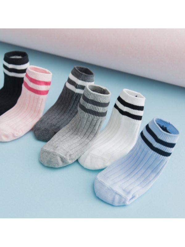 【18M-5Y】Kid Loose Cotton Tube Socks