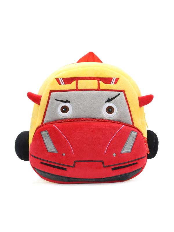 Kids Plush Racing Backpack