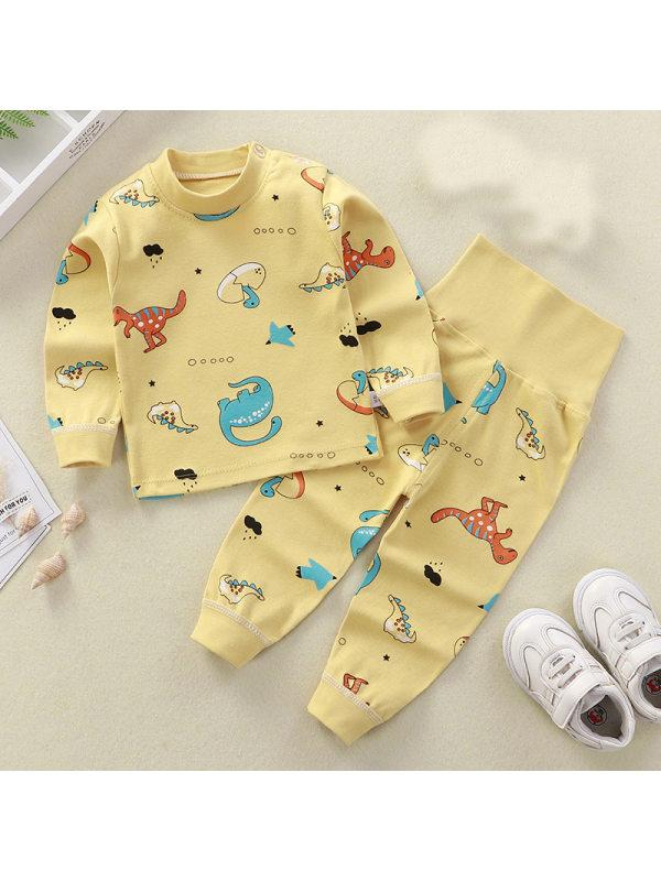 【9M-5Y】Kids Cartoon Print Home Suit