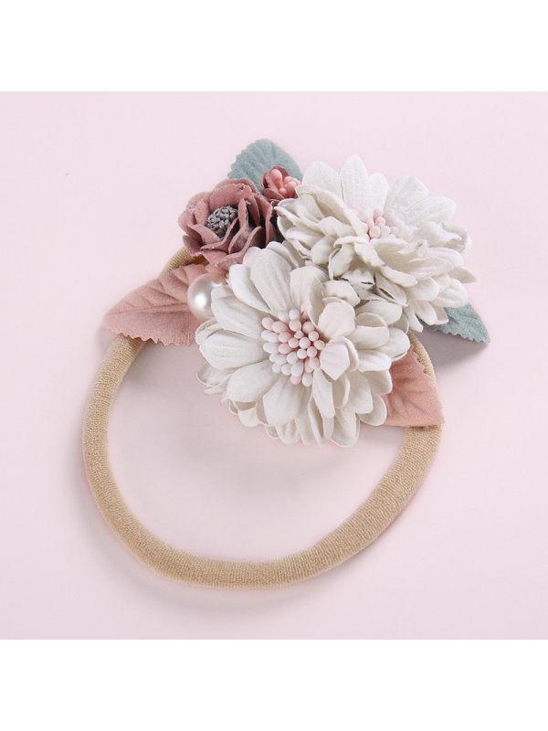 Kids Handmade Stitching Pearl Flower Set