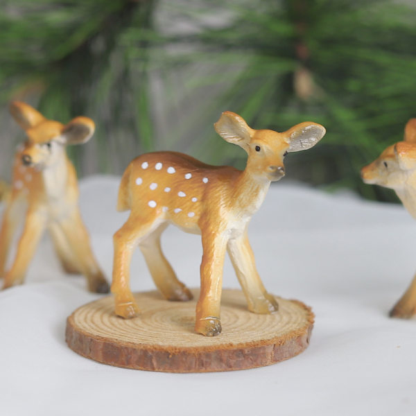 Sika deer animal resin ornaments christmas BJ-10 ...