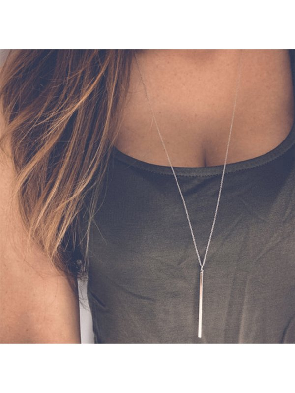 Fashion Trendy Simple Alloy Necklace