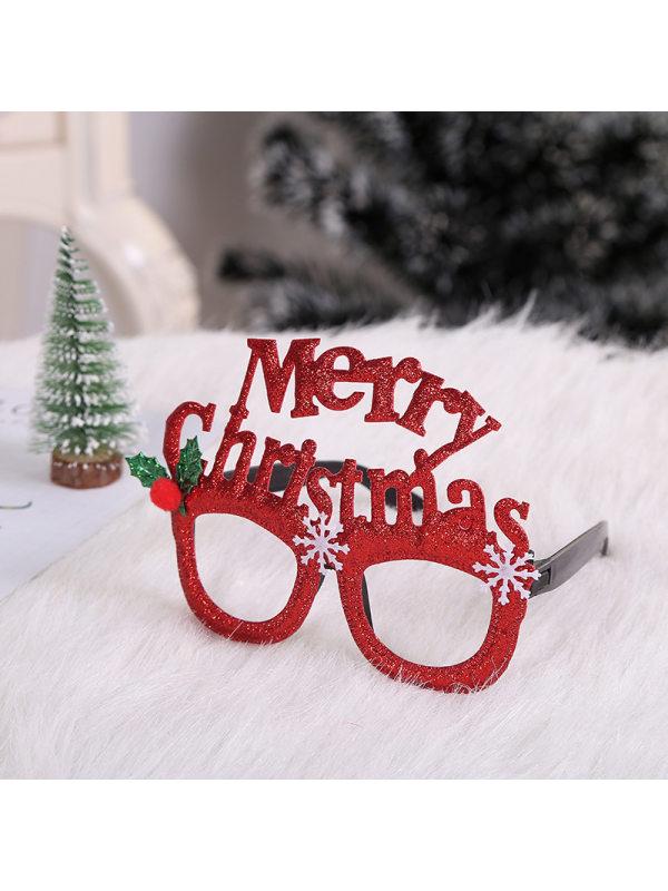 Christmas adult child Christmas tree antlers glasses frames