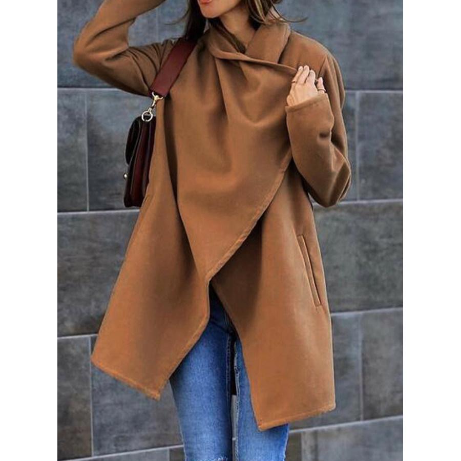 All match Woolen Pocket Coat