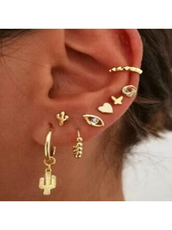 Fashion Earring Set Combination