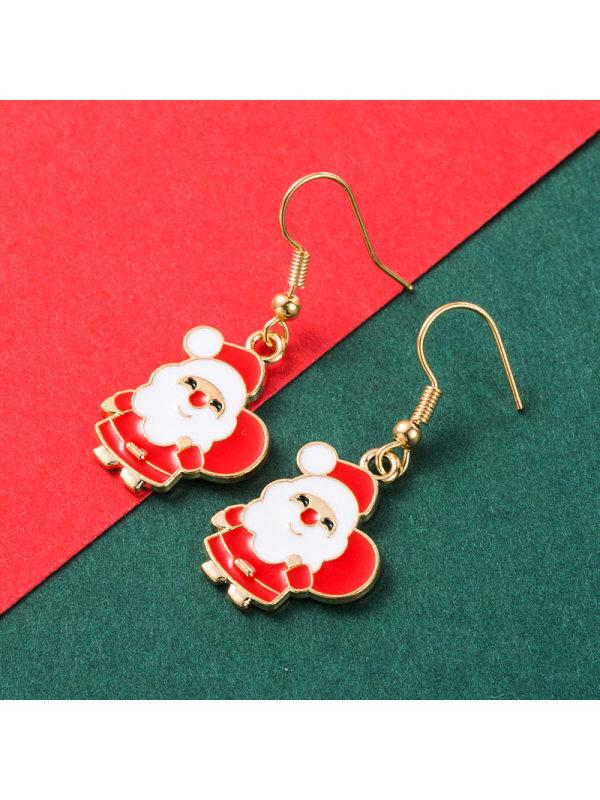 Christmas 4-Piece Set of Fashionable Gift Earrings