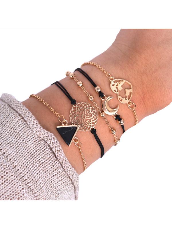 Fashion Moon Combination Bracelet