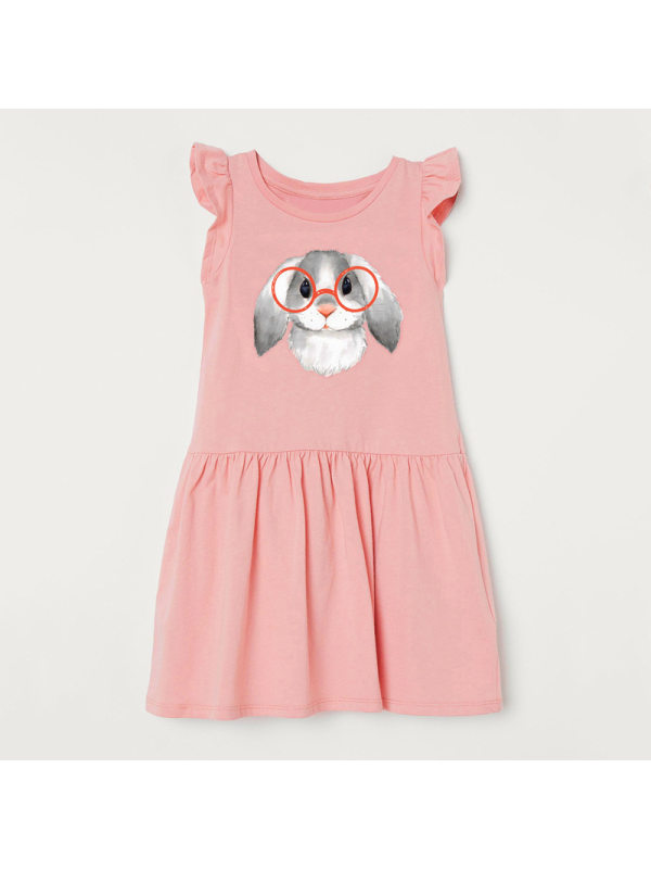 【18M-9Y】Girls Sleeveless Knitted Dress